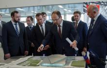 Дмитрий Анатольевич Медведев на открытии аэропорта Курумоч