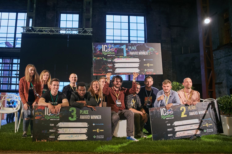Победители ICO HYPETHON